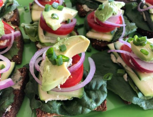 Fresh Herbal Butters & Open Face Sandwiches